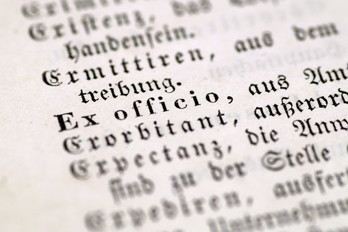 Ex Officio, Administration, Coercion, Old Letter
