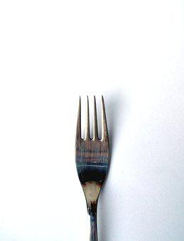 Fork, Cutlery, Cover, Metal, Eat, Close, Small Fork