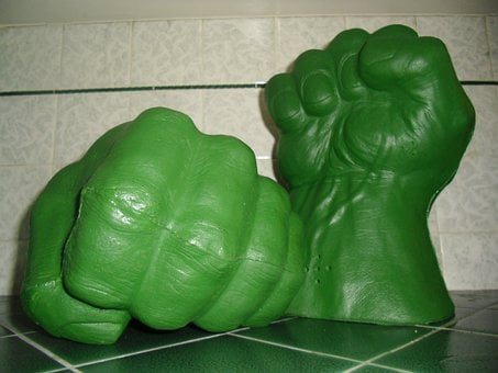 Incredible, Hulk, Hands, Fists, Fights, Toys, Fun