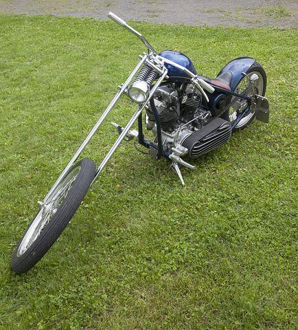 Motorcycle, Bike, Ring, Front Fork, Handlebars, Tank