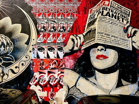 Graffiti, Pattern, San Diego, Obey Propaganda