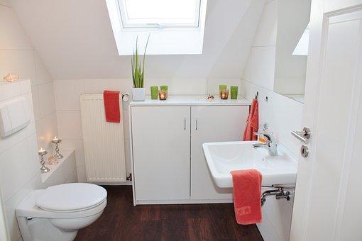 Bathroom, Bad, Toilet, Bathroom Sink, Sanitaryblock