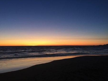 Sea, Sunset, Forte Dei Marmi