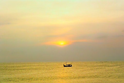 Indonesia, Indonesian Lake, Sea, Water, Mood, Boat