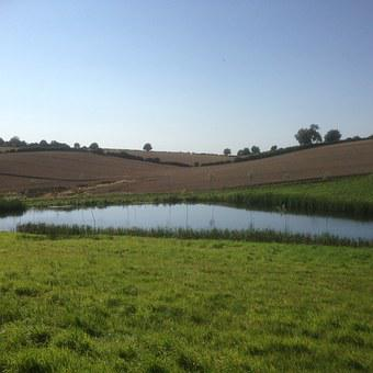 View, Lake, Country Side, Sky, Water, Nature, Landscape