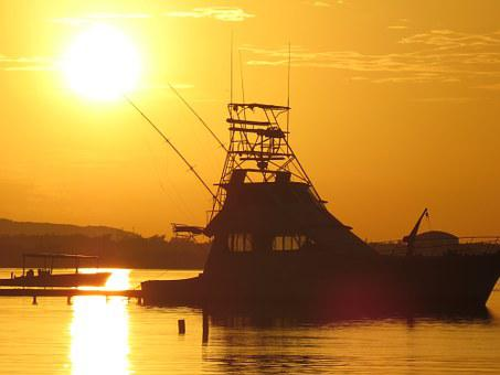 Sol, Vessel, By Sunsets, Tranquility, Nature, Sunset