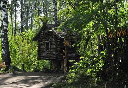 Russia, Story, Hut, Tree, Museum, Open-air Museum, Wood