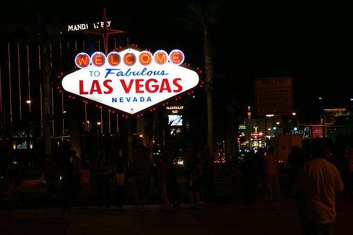 Las Vegas, Welcome, Neon Sign, Usa, Fabulous, Nevada