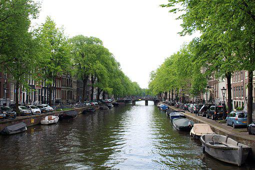Amsterdam, Canal, Netherlands, Channel, Holland, Water