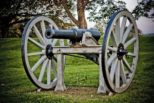 Cannon, Relic, Historical, Nova Scotia, Old, Weapon