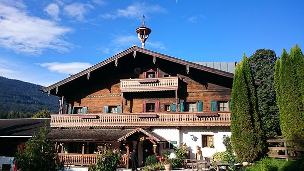 House, Bavarian, Guest House, Wood, Hotel