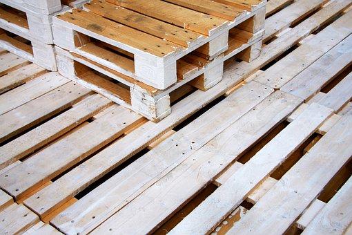Pallets, Wooden Pallets, Palette, Wood, Wooden