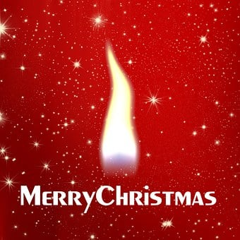 Flame, Christmas, Red, White, Star, Light, Advent