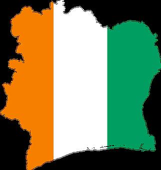 Côte D'ivoire, Flag, Map, Ivory Coast, Geography