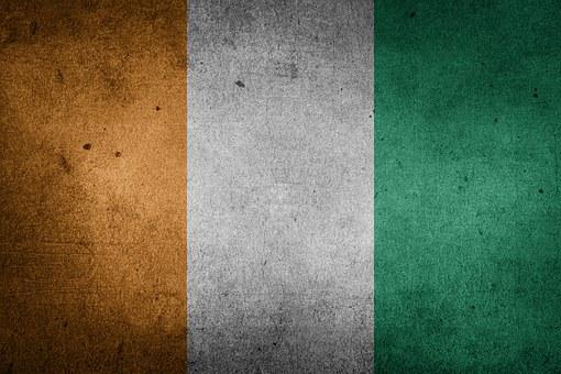 Flag, Cote D'ivoire, Ivory Coast, Africa, National Flag