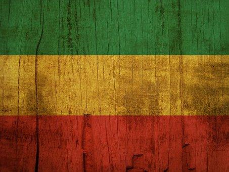 Rasta, Rasta Flag, Wooden, Wood, Reggae, Reggae Flag