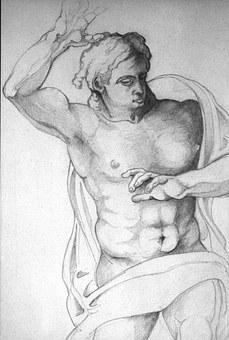 Drawing, Pencil Drawing, Pencil, Sistine Chapel
