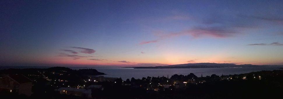Greece, Kefalonia Island, Sunset, View, Sky, Colors