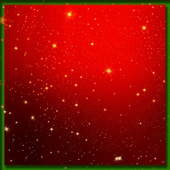 Christmas, Red, White, Star, Light, Advent, Decoration