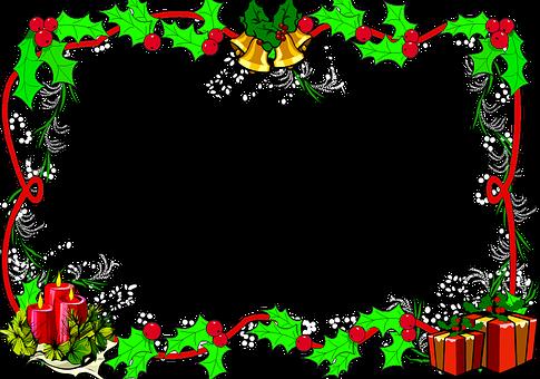 Christmas Border, Frame, Christmas Frame, Border