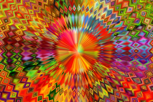 Kaleidoscope, Mandala, Color, Concentric, Abstract