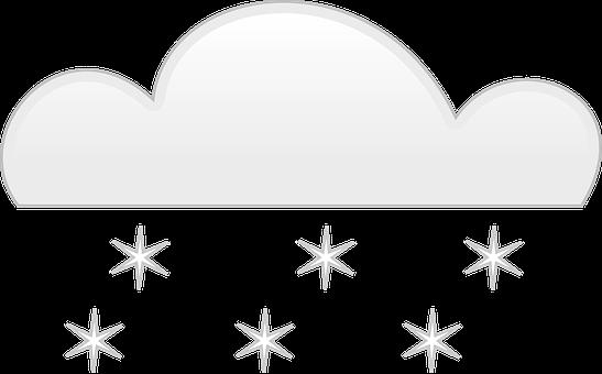 Snow, Cloud, Fall, Sky, Weather