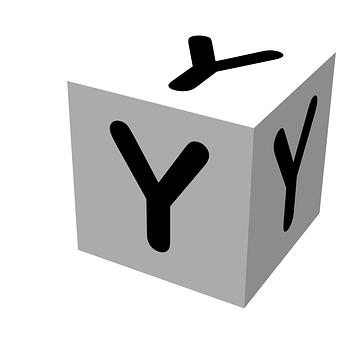 Letter, Block, Y, Wooden, Alphabet, Education, Text