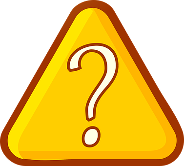 Triangle, Question, Mark, Sign, Orange, Yellow