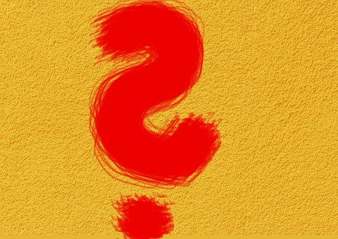 Question Mark, Characters, Yellow, Symbol, Red