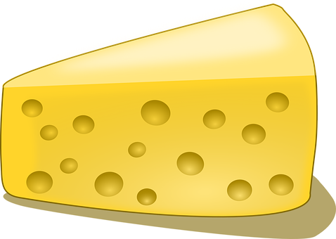 Cheese, Edam Cheese, Slice, Lunch, Meal, Yellow, Piece