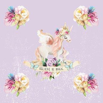 Unicorn, Magic, Fantasy, Horse, Horn, Cute, Pony, Dream
