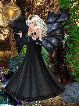 Fairy Beautiful, Dark Spells, Fantasy, Fairy Tales