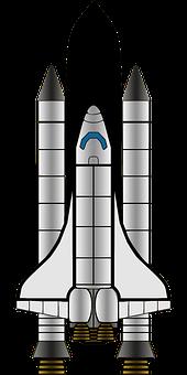 Launcher, Missile, Orbiter, Rocket, Shuttle, Space