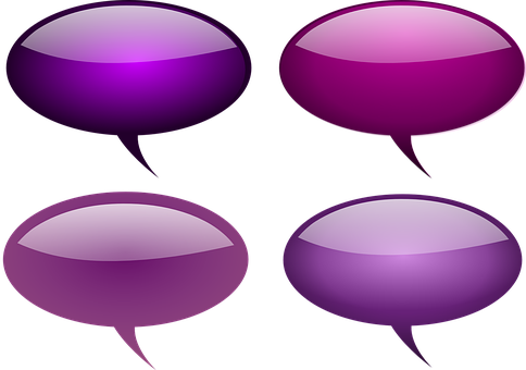 Bubble, Pink, Glossy, Speech, Comments, Speech Bubbles