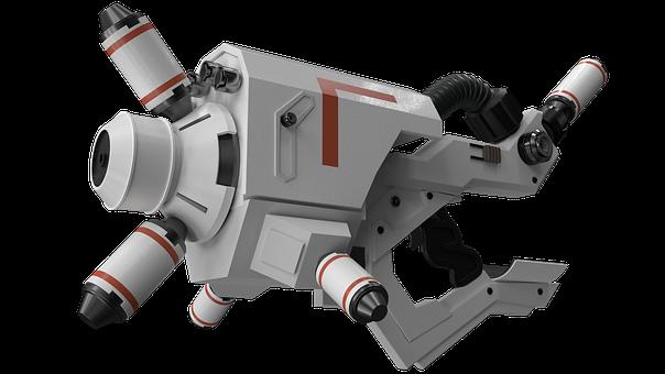 District 9, Alien Weapon, Weapon, Sci-f, Amr-b43