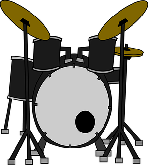 Drums, Instruments, Music, Set, Percussion, Concert