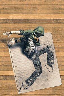 Hip Hop, Dancer, Man, Male, Human, Person, Activity