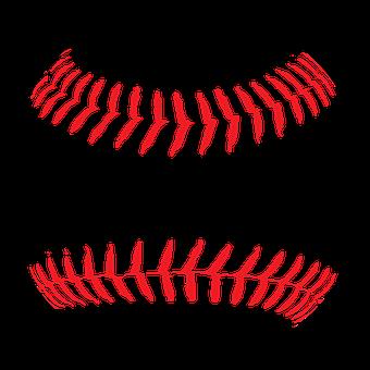 Softball, Baseball, Ball, Leather, White, Seam