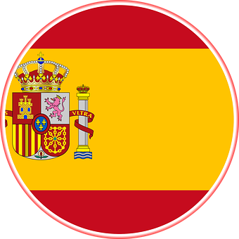 Spain, Flag, Graphic, Spanish, Symbol, Icon, Banner