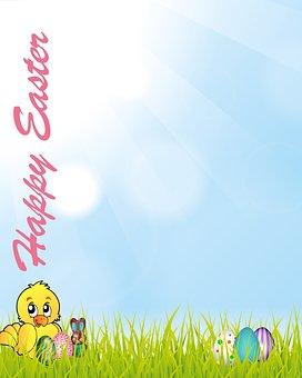 Holiday, Easter, Spring, Celebration, Design, Happy