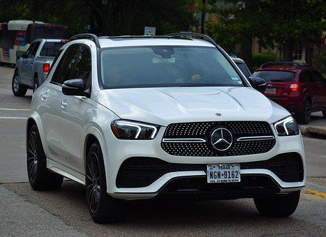 Mercedes Glc, Suv, Car, 4 Wheel Drive, Driving, Road