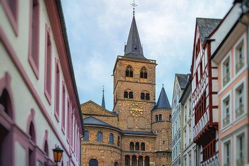 Trier, City View, Details, Building, Architecture