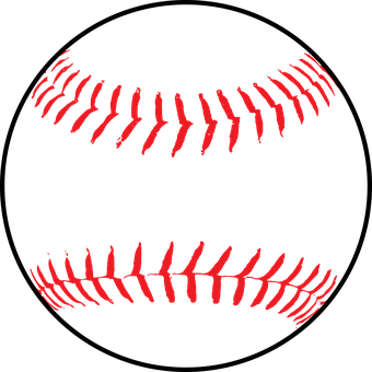 Softball, Baseball, Ball, Leather, White