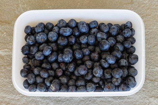 Blueberries, Fruit, Food, Blueberry, Berries, Fruits