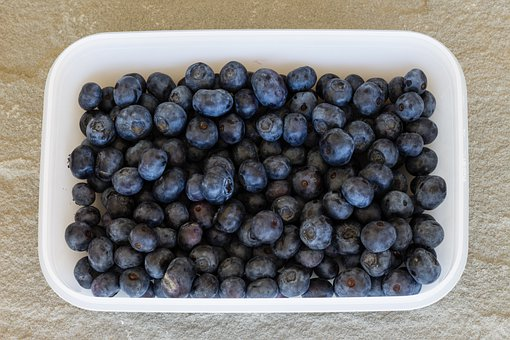 Blueberries, Fruit, Food, Blueberry, Berries, Fruits