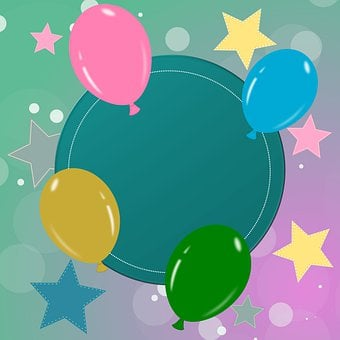 Map, Birthday Card, Birthday, Greeting Card, Balloon