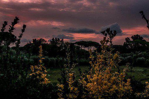 Sunset, Nature, Sky, Landscape