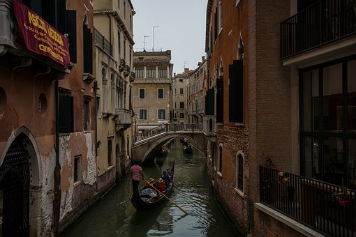 Venice, City, Italy, Architecture, Water, Canal, Travel