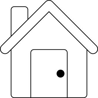 House, Building, Exterior, White, Roof