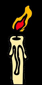 Candlelight, Candle, Lit, Flame, Celebration, Fire, Wax